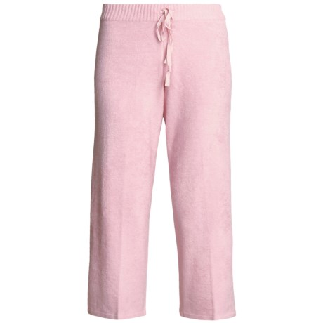 SoyBu Playwear Capri Pants - Drawstring (For Women) in Kiss Pink