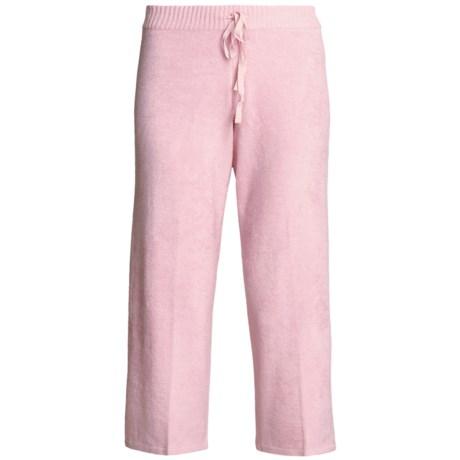SoyBu Playwear Capri Pants - Drawstring (For Women) in Kiss Pink