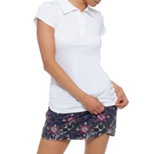 Soybu Renee Polo Shirt - Short Sleeve (For Women) in White - Closeouts