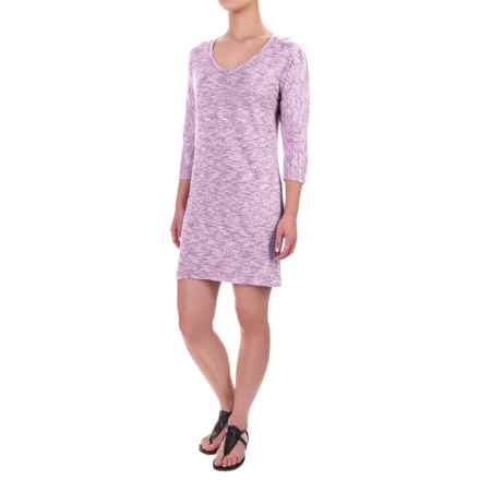 Soybu Rosa Dress - 3/4 Sleeve (For Women) in Silver Plum - Closeouts