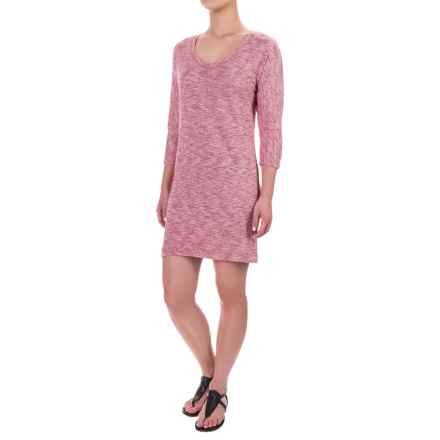 Soybu Rosa Dress - 3/4 Sleeve (For Women) in Syrah - Closeouts