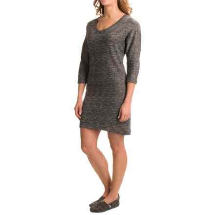 Soybu Rosa Dress - Elbow Sleeve (For Women) in Black Heather - Closeouts