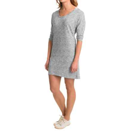 Soybu Rosa Dress - Elbow Sleeve (For Women) in Grey Heather - Closeouts