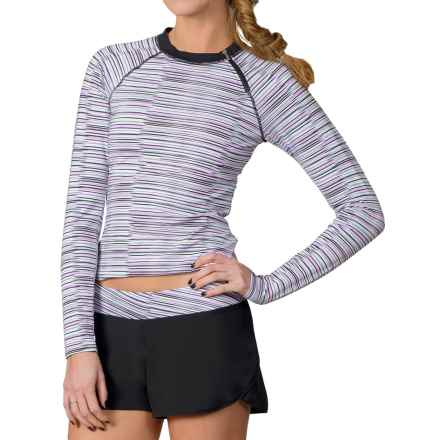 Soybu Rosalie Rash Guard - Long Sleeve (For Women) in Sonic Wave - Closeouts