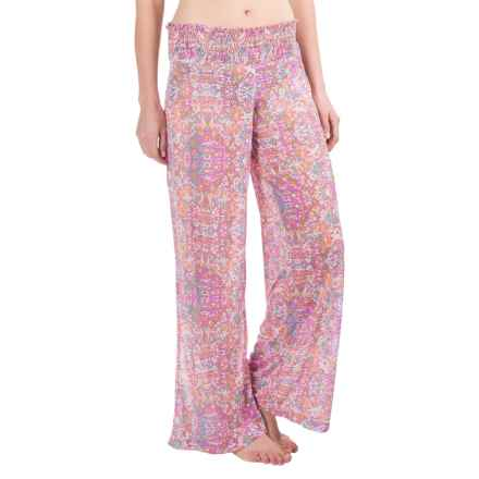 Soybu Sanibel Swimsuit Cover-Up Pants (For Women) in Secret Garden - Closeouts