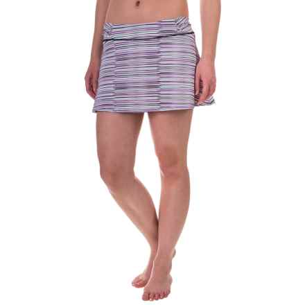 Soybu Shore Swim Skirt (For Women) in Sonic Wave - Closeouts