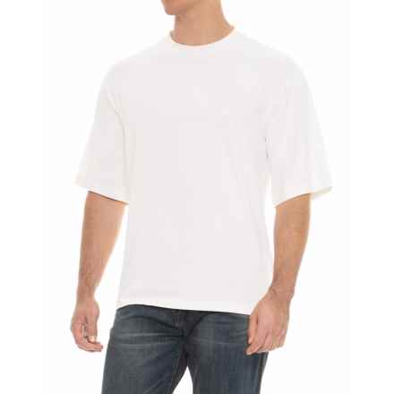 Soybu Solid Stretch-Knit Shirt - Short Sleeve (For Men) in White - Overstock