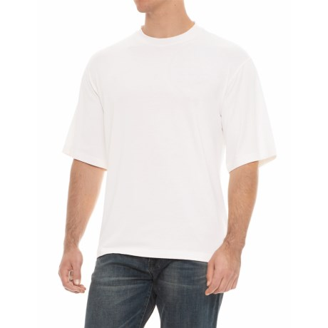 Soybu Solid Stretch-Knit Shirt - Short Sleeve (For Men) in White