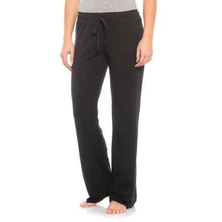 Soybu Stretch Cotton-Modal Lounge Pants (For Women) in Black - Closeouts