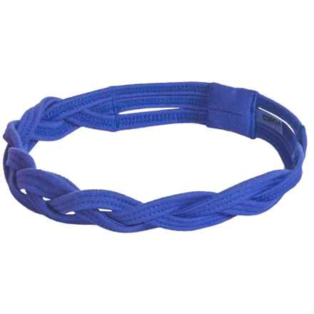 Soybu Taylor Braided Sport Headband - Solid (For Little and Big Girls) in Blue Crush - Closeouts