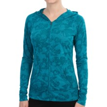 Soybu Taylor Hoodie Shirt - Zip Front, Burnout (For Women) in Murano - Closeouts