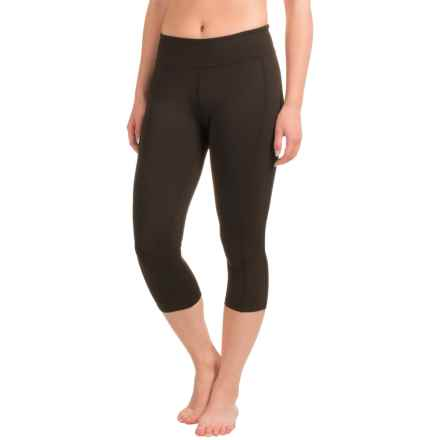 Soybu Toni Capri Leggings - UPF 50+ (For Women) in Black Solid - Closeouts