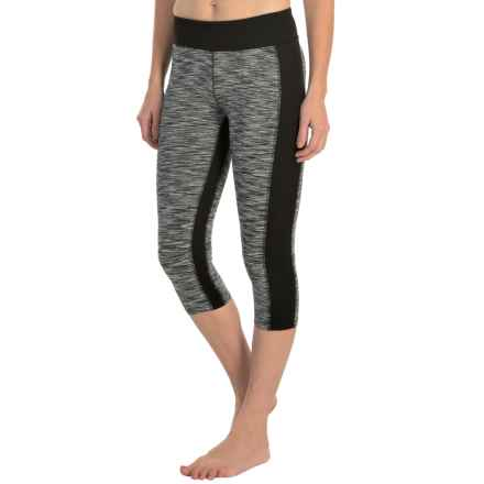 Soybu Toni Capri Leggings - UPF 50+ (For Women) in Black - Closeouts