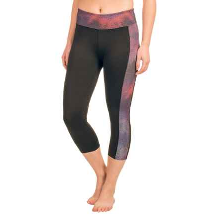 Soybu Toni Capri Leggings - UPF 50+ (For Women) in Galaxy - Closeouts