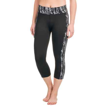 Soybu Toni Capri Leggings - UPF 50+ (For Women) in Helix - Closeouts