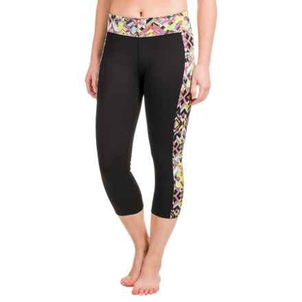 Soybu Toni Capri Leggings - UPF 50+ (For Women) in Reflect - Closeouts