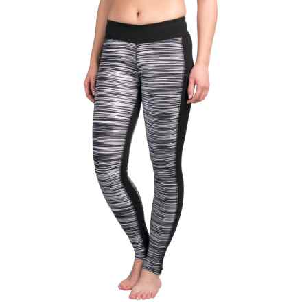 Soybu Toni Leggings - UPF 50+ (For Women) in Black Wave - Closeouts