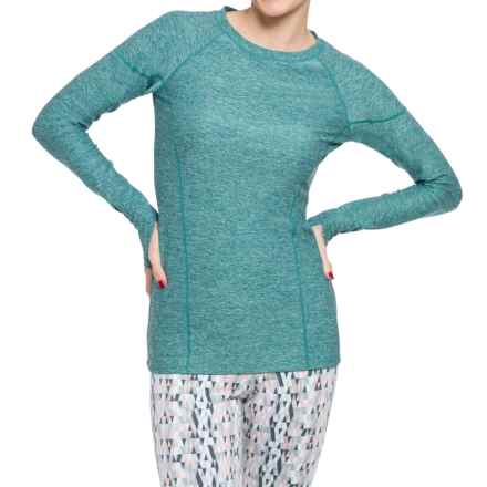Soybu Valerie Shirt - Long Sleeve (For Women) in Gemstone - Closeouts
