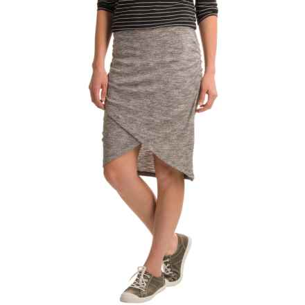 Soybu Wren Skirt (For Women) in Grey Heather - Closeouts