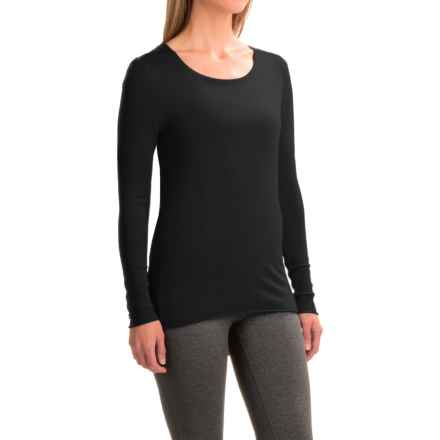 Soybu Yvette Tunic Shirt - Rayon, Long Sleeve (For Women) in Black - Closeouts
