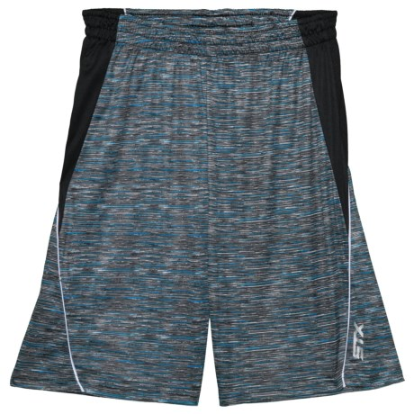 Space Dye Athletic Shorts (for Big Boys) Black (m )