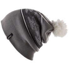 Spacecraft Collective Snowcat Beanie Hat (For Men) in Grey/Grey - Closeouts