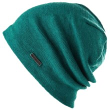 Spacecraft Collective The Good Beanie Hat - Slouchy Knit, Lined (For Men) in Teal - Closeouts