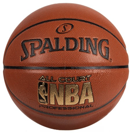 Spalding All Court Pro Composite Basketball - Official Size in Brown