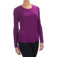 Spalding Effortless Shirt - Rayon, Long Sleeve (For Women) in Cranberry - Closeouts