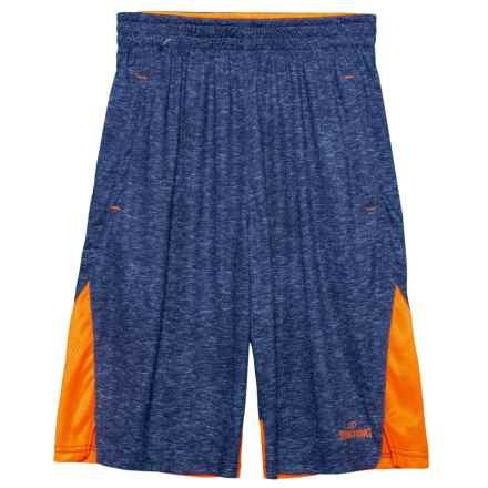 Spalding Game Day Basketball Shorts (For Big Boys) in Navy - Closeouts