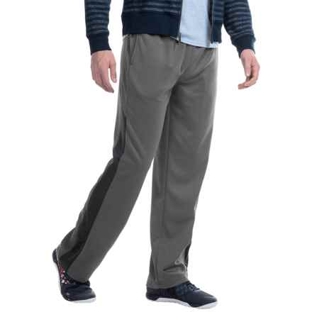 Spalding High-Performance Fleece Joggers (For Men) in Gravel/Black - Closeouts