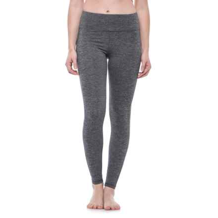 Spalding High-Waisted Leggings (For Women) in Black Combo - Closeouts
