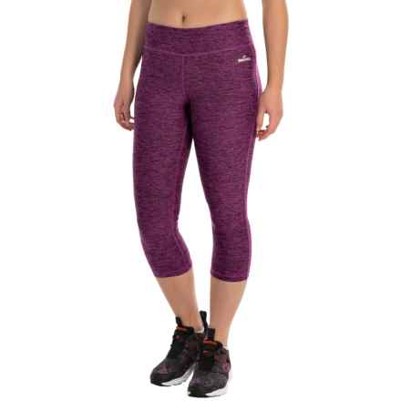 Spalding Pixel City Insert Crop Pants (For Women) in Magenta - Closeouts