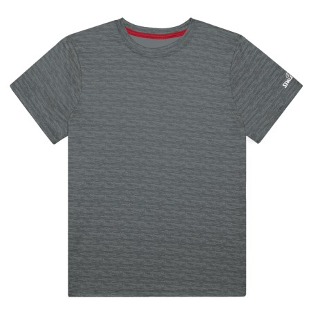 Spalding Pregame Marble T-Shirt - Short Sleeve (For Big Boys) in Black Marble
