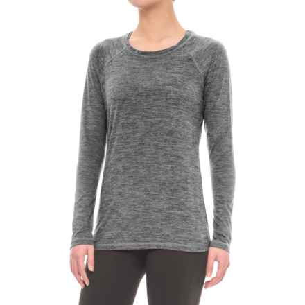 Spalding Relaxed Raglan Shirt - Long Sleeve (For Women) in Stone - Closeouts