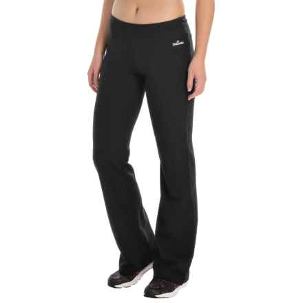 Spalding Stretch-Knit Bootcut Pants (For Women) in Black - Closeouts