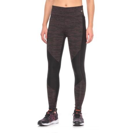 Spalding Texture Blocked Leggings (For Women) in Warm Multi Combo
