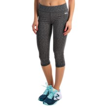 Spalding Vixen Heather Capris (For Women) in Black Heather - Closeouts