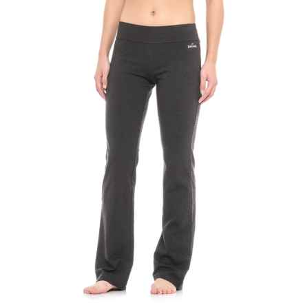 Spalding Yoga Pants - Straight Leg (For Women) in Charcoal - Closeouts