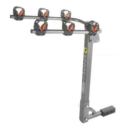 SpareHand Systems 3-Bike Hitch Mount Rack in See Photo - Closeouts