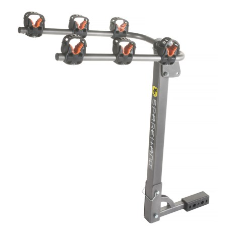 SpareHand Systems 3-Bike Hitch Mount Rack in See Photo