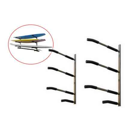 SpareHand Systems 3-Tier SUP and Surfboard Wall Mount Rack in See Photo - Closeouts