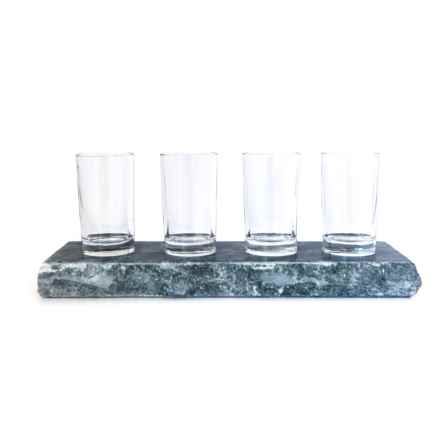 Sparq Home Home Soapstone Beer Flight Set - 5-Piece in Soapstone - Overstock