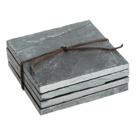 SPARQ Home Slate Coasters - Set of 4