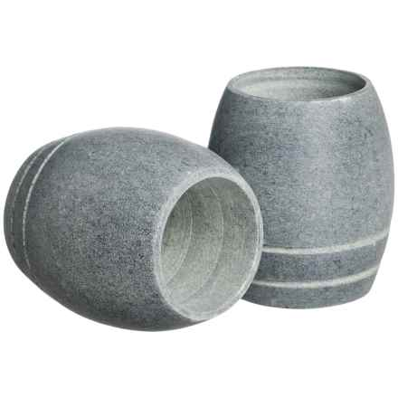 SPARQ Home Soapstone Shot Glasses - 2 fl.oz., Set of 2 in Soapstone - Overstock
