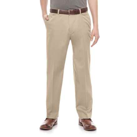 Specially made American Chino Cotton-Rich Pants (For Men) in Light Khaki - Closeouts