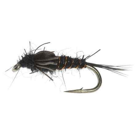 Specially made A.P. Nymph Fly - Dozen in Black - Closeouts
