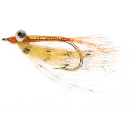 Specially made Bandwing Charlie Saltwater Fly - Dozen in Orange - Closeouts