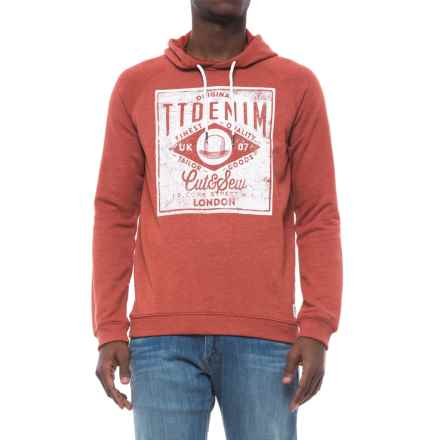 Specially made Cotton-Blend Hoodie (For Men) in Chili Denim - Closeouts