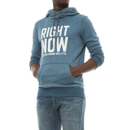 Specially made Cotton-Blend Hoodie (For Men) in Deep Sea Right Now - Closeouts